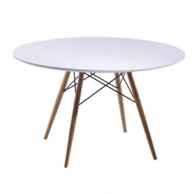 Mesa Tower Wood Table