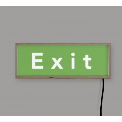 LightBox Exit 40x15