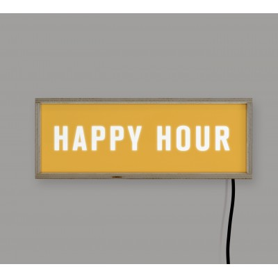 LightBox Happy Hour 40x15
