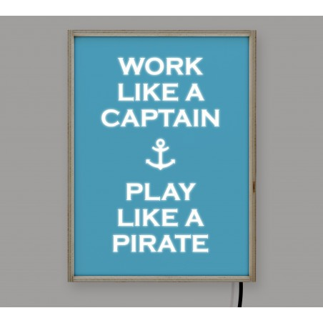 LightBox Work Captain 40x30