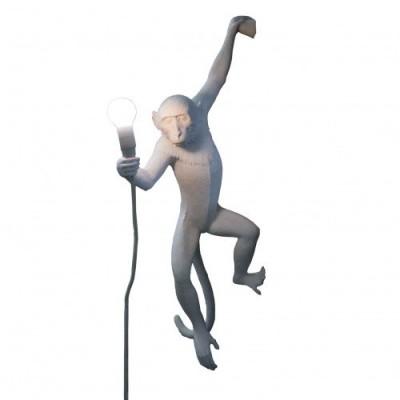 Monkey Lamp Holding