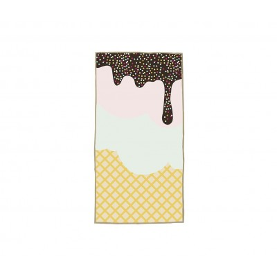 Toalla Playa Ice Cream 70x140
