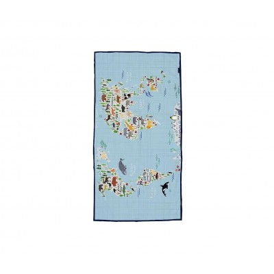 Toalla Playa Map 70x140