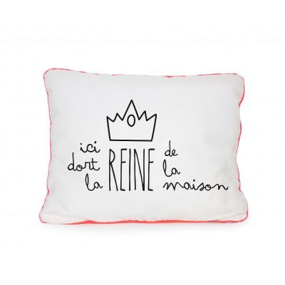 Cojín Duerme Reina Francés