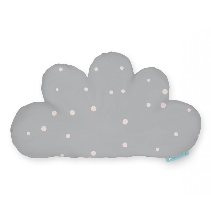Cojin Formas Cloud Grey