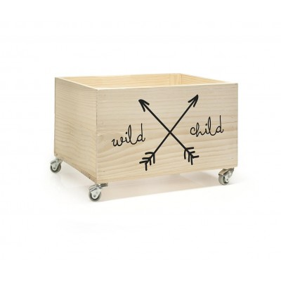 Cajón con vinilo Wild Child