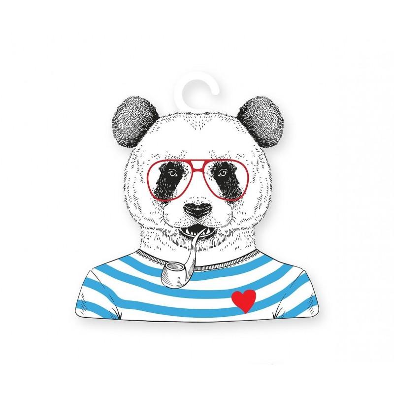 Percha Formas Panda