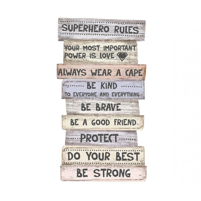 Señal Superhero Rules