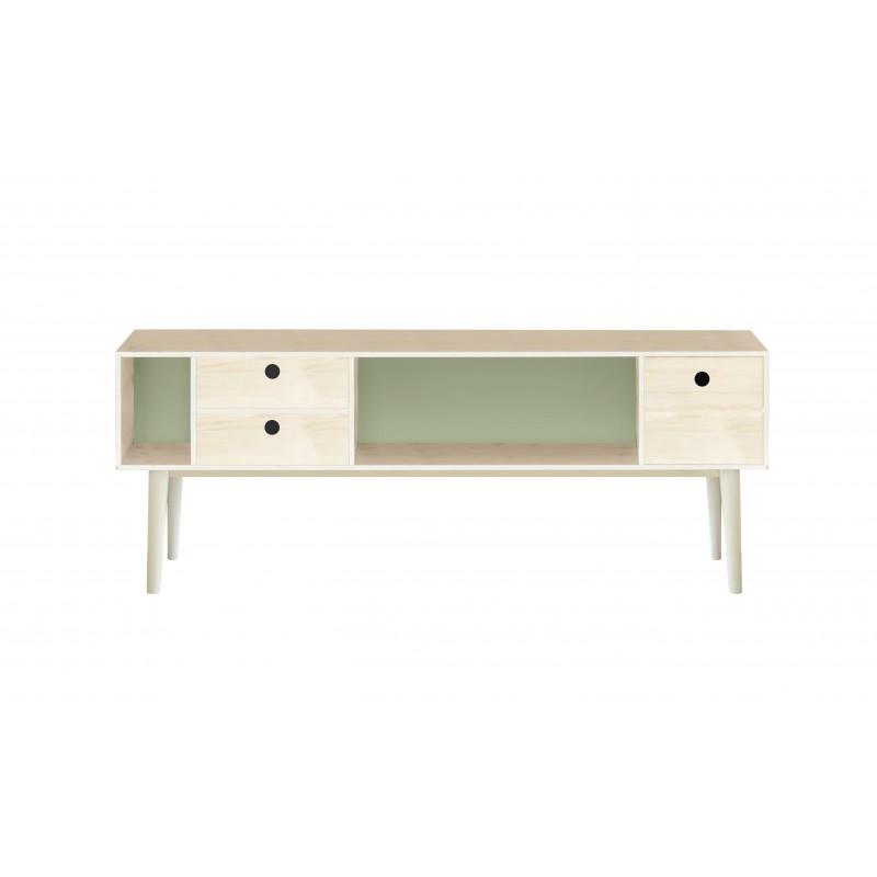 Mueble TV Verde 120x47