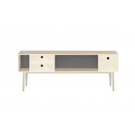 Mueble TV Gris 120x47