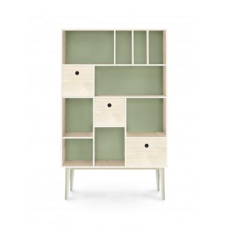 Mueble Organizador Verde