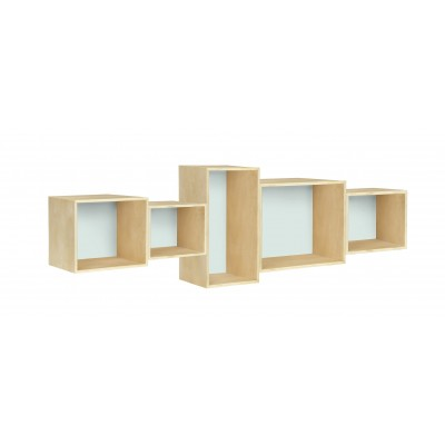 Bookcase Aguamarina