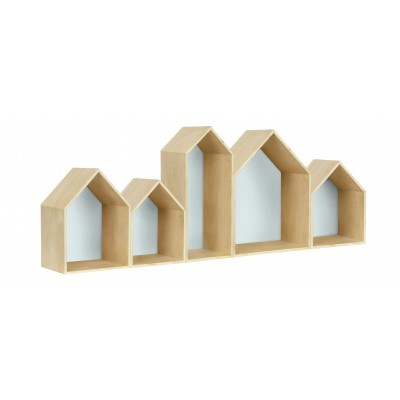 Houses Bookcase Aguamarina