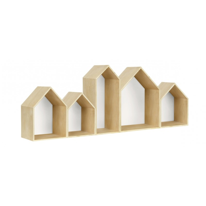 Houses Bookcase Blanco