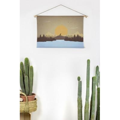 Tapiz Sunset Landscape 90x60