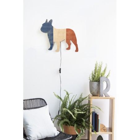 Shape Lamp French Bulldog