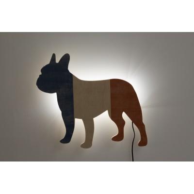 Shape Lamp French Bulldog, French Bulldog Lamp