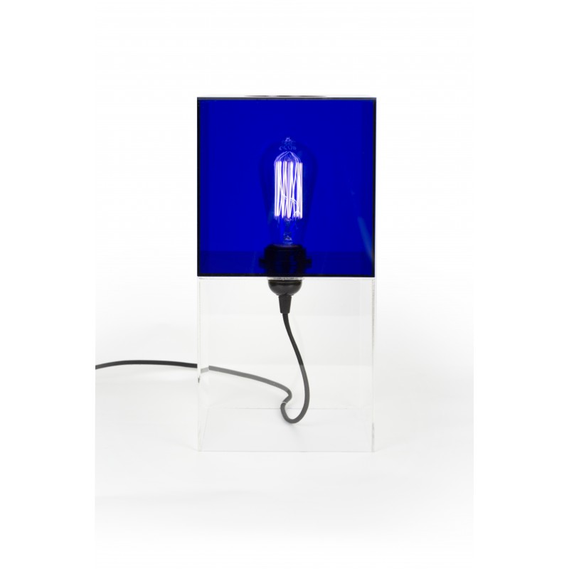 Box2 Lamp Blue
