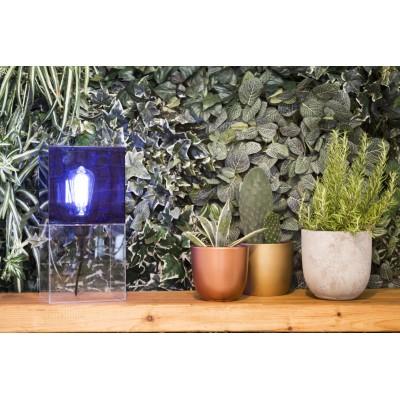 Box2 Lamp Blue