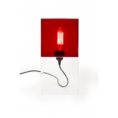 Box2 Lamp Red