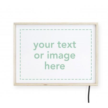 "Lightbox Personalizable ""Pon aqui tu mensaje"""