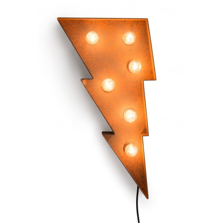 Letter A with Light Bulb