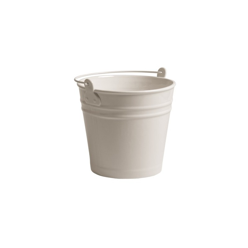 Cubo Blanco en Porcelana