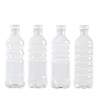 Set Botellas Vidrio