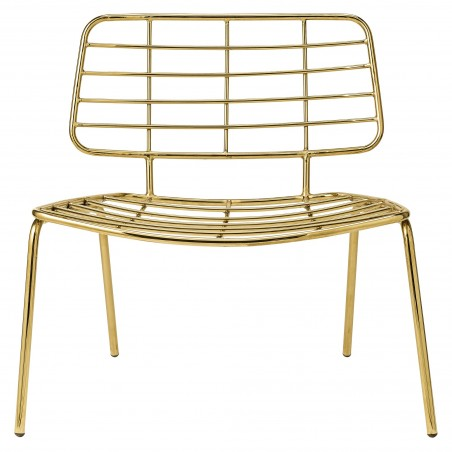 Lounge Chair Gold