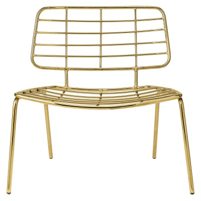 Silla Lounge Chair Gold