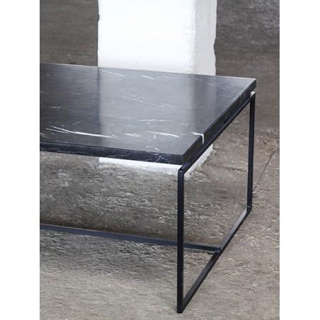 Coffeetable Verde black marble