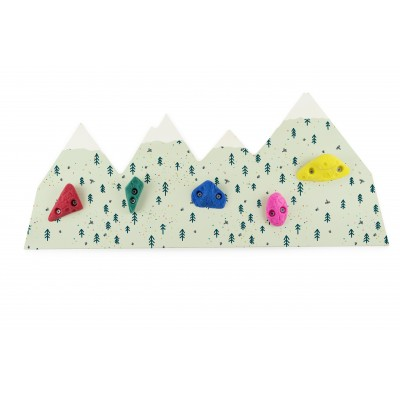 Climbing Wall Coat Hanger Forest