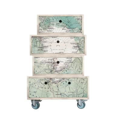 Chests Of Drawers On Wheels Antartic