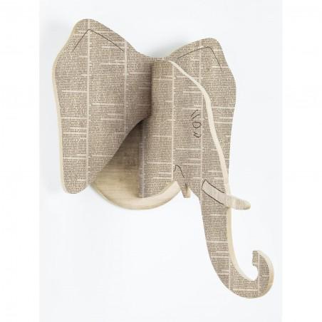 Busto 2D Elefante