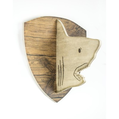 Busto 2D Tiburón