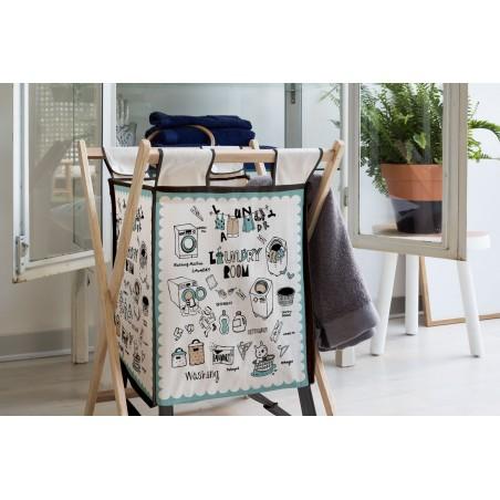 laundry basket, Laundry Room