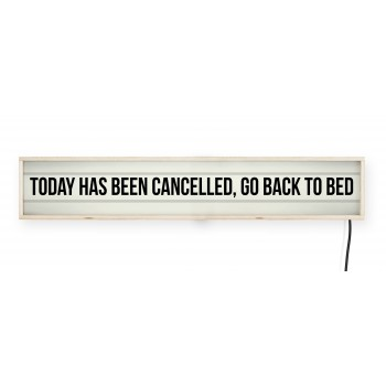Lightbox Headboard Cancelled Today