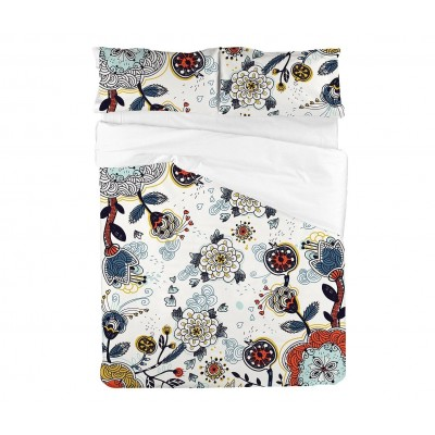 Crazy Garden Bed Sheet