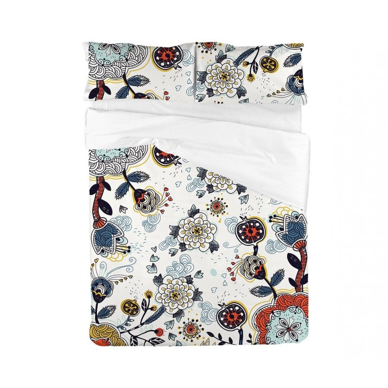 Crazy Garden Bed Sheet