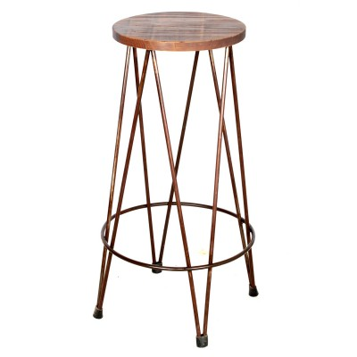 Industrial Rivel Stool