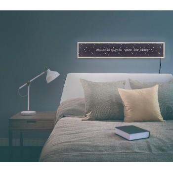 Lightbox Headboard Nights
