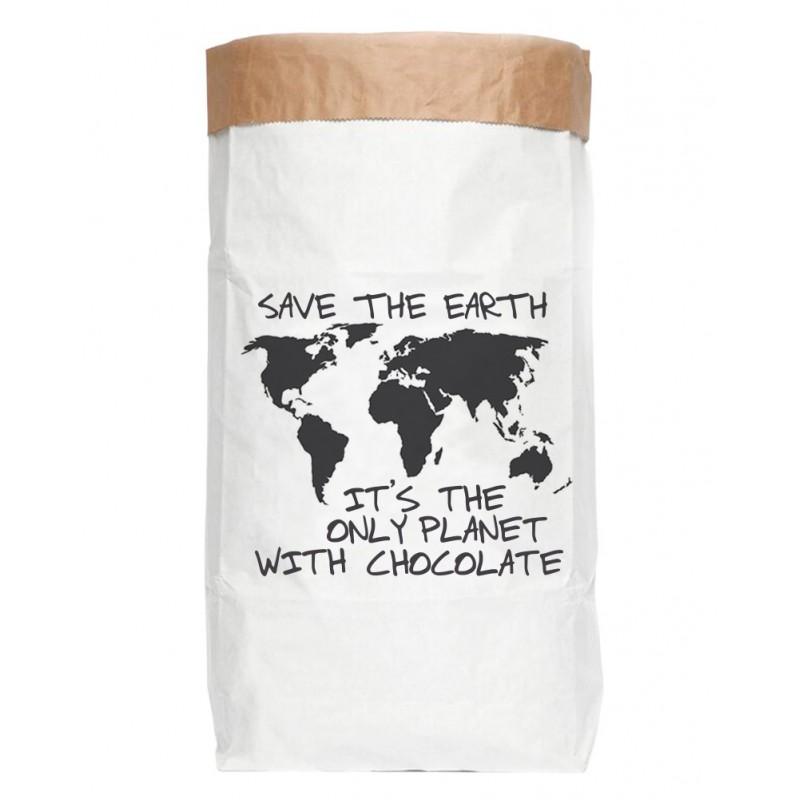Saco Ordenacion Chocolate