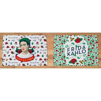 Set 2 Manteles individuales Frida Kahlo