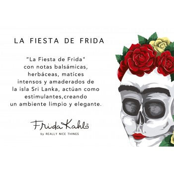 "Candle ""Fiesta de Frida"""