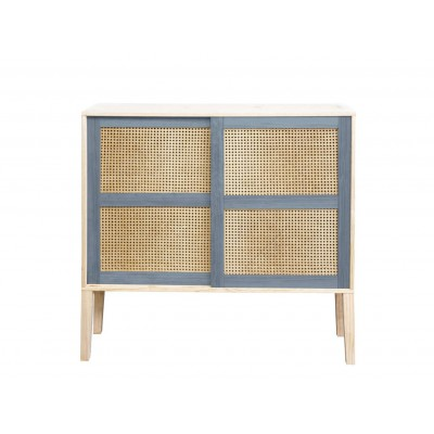 Colour Wickerwork Console Table
