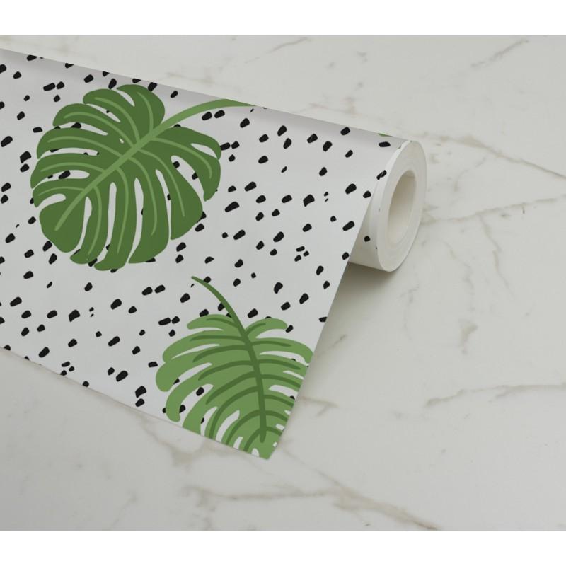 Comprar papel pintado pared monstera online - Papel pared lavable ...