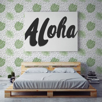Papel Pintado Pared Monstera