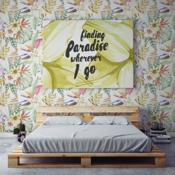 Papel Pintado Pared Tropical Garden