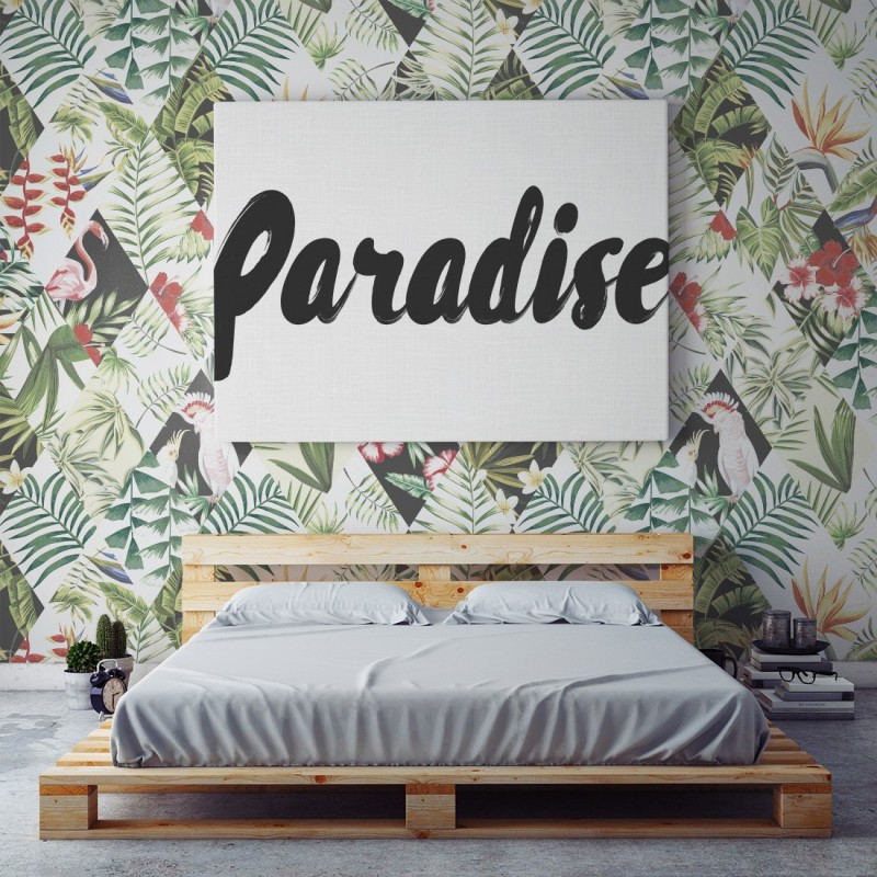 Comprar papel pintado pared tropical online - Papel pintado decoracion paredes ...
