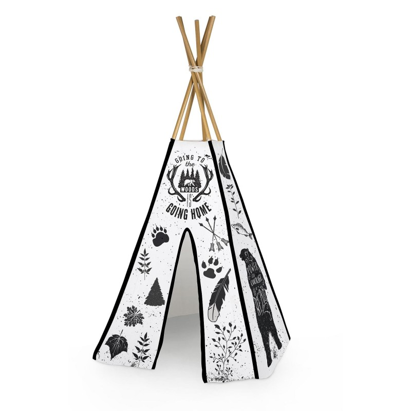 Tipi Going to the Woods